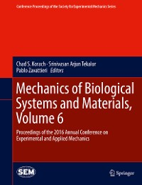 Cover Mechanics of Biological Systems and Materials, Volume 6