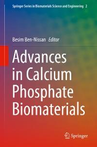 Cover Advances in Calcium Phosphate Biomaterials
