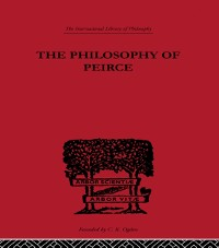 Cover Philosophy of Peirce