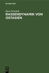 Cover Rassendynamik von Ostasien