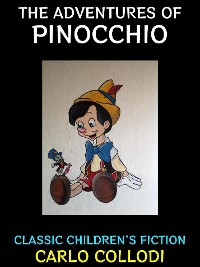 Cover The Adventures of Pinocchio.