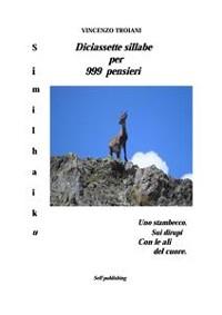 Cover Diciassette sillabe per 999 pensieri