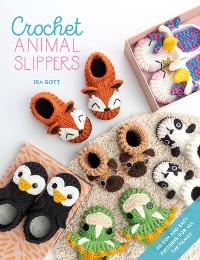 Cover Crochet Animal Slippers
