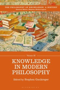 Cover Knowledge in Modern Philosophy