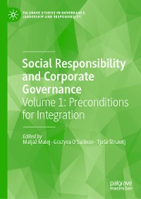 Cover Social Responsibility and Corporate Governance