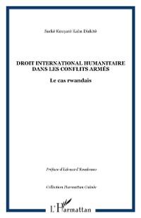 Cover Droit international humanitaire dans les conflits armes - le
