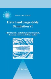 Cover Direct and Large-Eddy Simulation VI