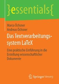 Cover Das Textverarbeitungssystem LaTeX