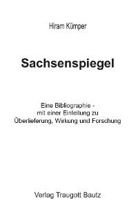 Cover Sachsenspiegel