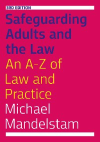 Cover Safeguarding Adults and the Law, Third Edition
