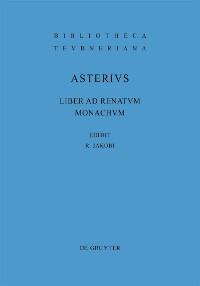 Cover Liber ad Renatum monachum