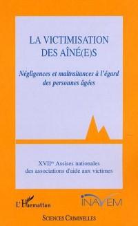 Cover La Victimisation des aine(e)s