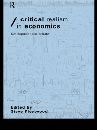 Cover Critical Realism in Economics