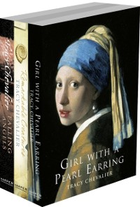 Cover Tracy Chevalier 3-Book Collection: Girl With a Pearl Earring, Remarkable Creatures, Falling Angels