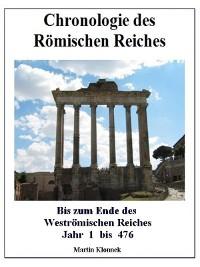 Cover Chronologie des Römischen Reiches