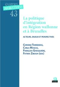 Cover Politique d'integration et region wallonne et a Bruxelles