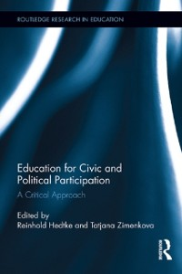 Cover Education for Civic and Political Participation