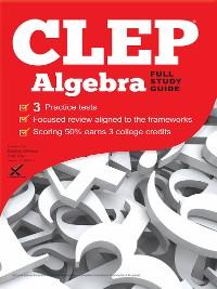 Cover CLEP Algebra 2017