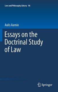 Cover Essays on the Doctrinal Study of Law