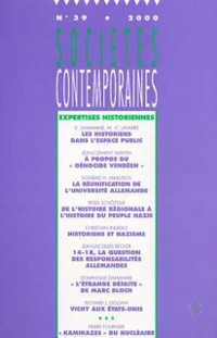 Cover Expertise historienne