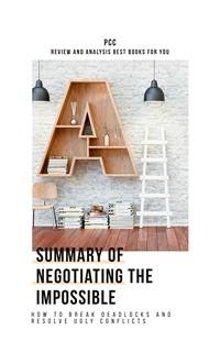 Cover Negotiating the Impossible