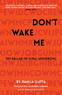 Cover Don't Wake Me: The Ballad of Nihal Armstrong