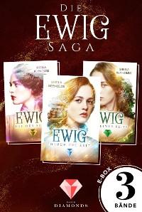 Cover Alle drei Bände der romantischen Ewig-Saga in einer E-Box! (Die Ewig-Saga )