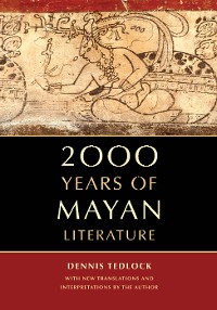 Cover 2000 Years of Mayan Literature
