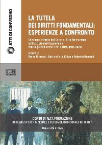Cover La tutela dei diritti fondamentali: esperienze a confronto 2020