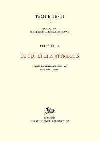 Cover De Deo et eius attributis