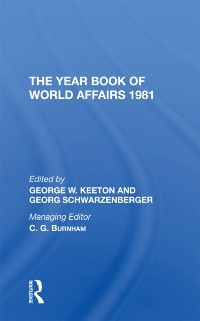 Cover Year Book Of World Affairs, 1981