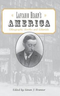 Cover Lafcadio Hearn's America