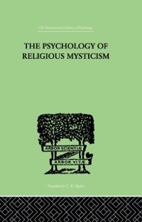Cover Psychology of Religious Mysticism