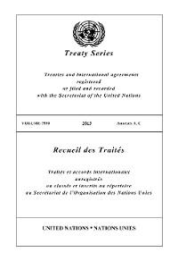 Cover Treaty Series 2930/Recueil des Traités 2930