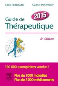 Cover Guide de therapeutique 2015