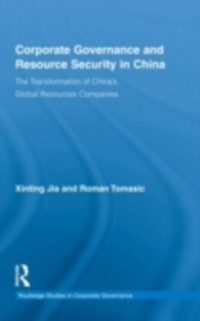 Cover Corporate Governance and Resource Security in China