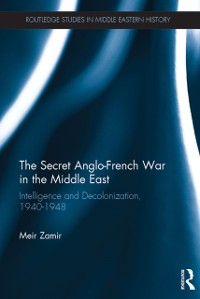 Cover Secret Anglo-French War in the Middle East