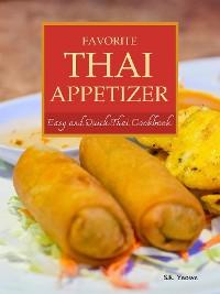 Cover Favorite Thai Appetizer