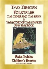 Cover TWO TIBETAN FOLK TALES - Children's Moral Tales