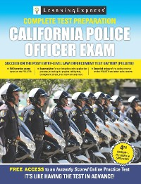 Cover California Police Officer Exam