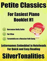 Cover Petite Classics for Easiest Piano Booklet H1