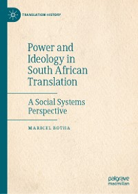 Cover Power and Ideology in South African Translation
