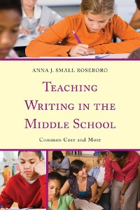 Cover Teaching Writing in the Middle School
