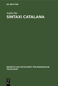 Cover Sintaxi catalana