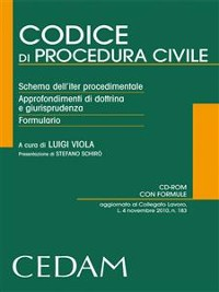 Cover Codice di procedura civile