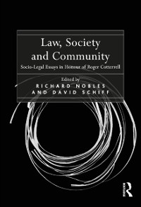 Cover Law, Society and Community