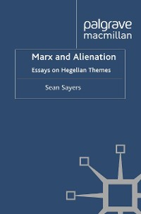 Cover Marx and Alienation