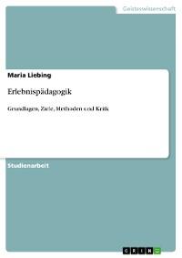 Cover Erlebnispädagogik