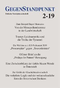 Cover GegenStandpunkt 2-19