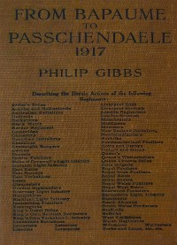 Cover From Bapaume to Passchendaele, 1917